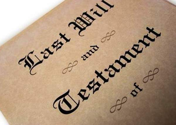 I've been excluded from my spouse's will – what can I do?
