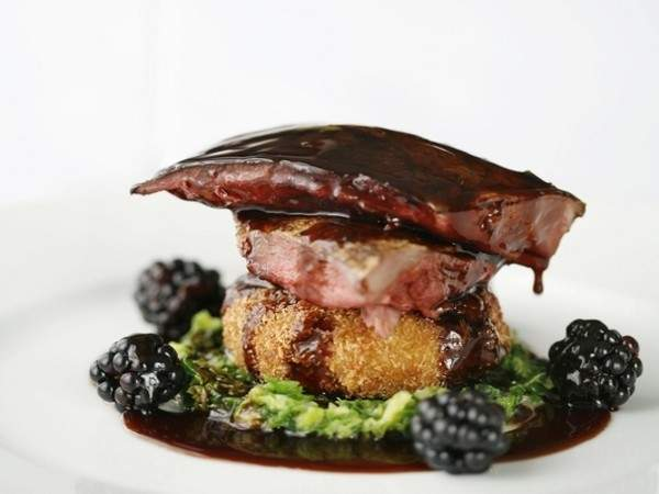 Guest Recipe: William Drabble's roast grouse with blackberries and port wine jus