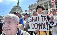 Red alert: A US government shutdown could crash the recovery