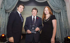 Photos of the winners at the Spear's Wealth Management Awards 2013