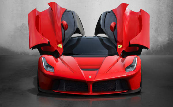 The hybrid and limited edition £1 million LaFerrari