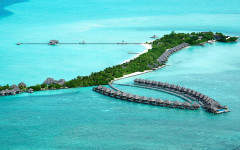 Reaffirm your vows at Taj Exotica's stunning Maldives ocean pavilion