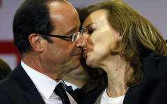 If Francois Hollande dumps Valerie Trierweiler, what is she entitled to?