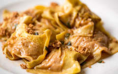 Guest Recipe: Sam Williams' Pumpkin Tortelli