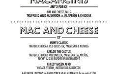 Review: When Mac Met Cheese, Porchester Road