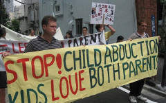 What is the law when parents abduct their children?