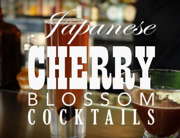Food Friday: Japanese Cherry Blossom Cocktails for Hanami
