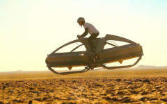 Aerofex unveil Star Wars inspired hoverbike