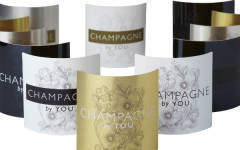 Bespoke bottles with 'Champagne by You'