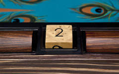 Stunning backgammon designs from Alexandra Llewellyn