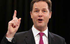 Nick Clegg needs to get his head out of the sand