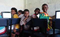 Second-hand computers give first-class education to Ethiopia's children