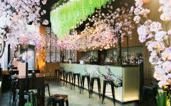 Celebrate the cherry-blossom season with Sakura at Sake No Hana