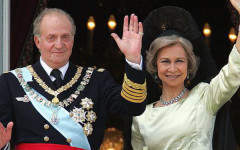 After the King of Spain's abdication, how do philanthropists hand over their foundations?