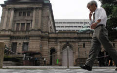 Quantitative easing is causing Japan the same problems as us