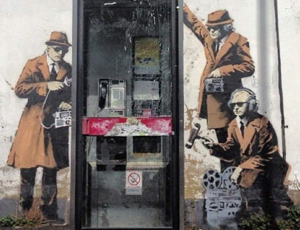 Millionaire steps in to save local Banksy artwork