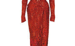Marilyn Monroe's red dress among cultural artefacts on display at Christie's