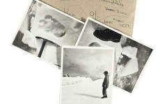 Iconic 'Yeti' footprint pictures form part of new Christie's auction