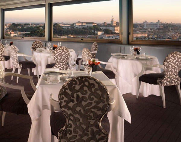 Rome Shines With The Beefed Up Terrazza Dell Eden Restaurant