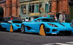 We locate the secret supercar garage used by London's summertime Emirati visitors