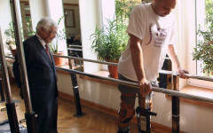 The paralysed man who walks again shows the power of philanthropy