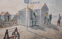 Painting bought for £100 turns out to be long lost Ravilious masterpiece