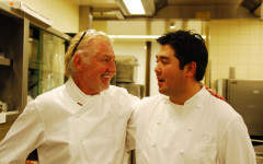 Pierre Gagnaire hopes to inspire a young chef to the Waldorf Astoria's next iconic dish