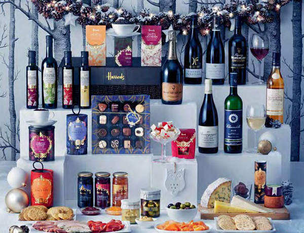 Nothing says Christmas like a Harrods hamper