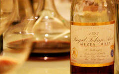 Sweet wines are the perfect winter warmer