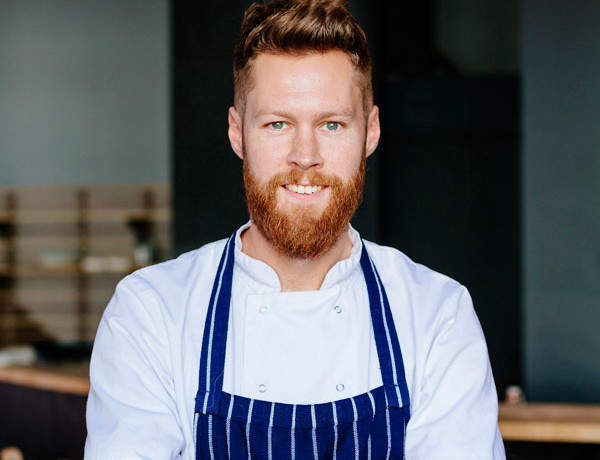 Guest recipe: Tom Fraser of Verden's English asparagus, pancetta and crispy duck egg
