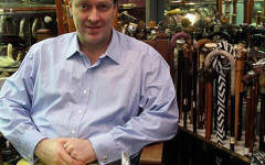 A masterclass in antique pistols, albatross skin canes and whale memorabilia at Michael German Antiques