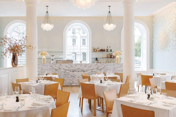 Somerset House's new restaurateur has rightly got a spring in her step