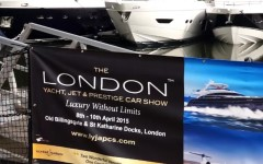 The London Yacht, Jet & Prestige Car Show