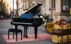 Edelweiss: The self-playing piano that plays along to music from your iPod