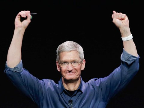 Three cheers for Tim Cook