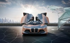 BMW Vision 100: A self-driving concept car with artificial intelligence