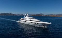 Axioma, the superyacht fit for celebrities and tsars