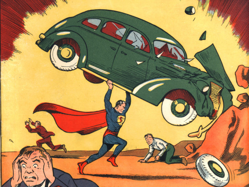 What DC superheroes have in common with Renaissance giants