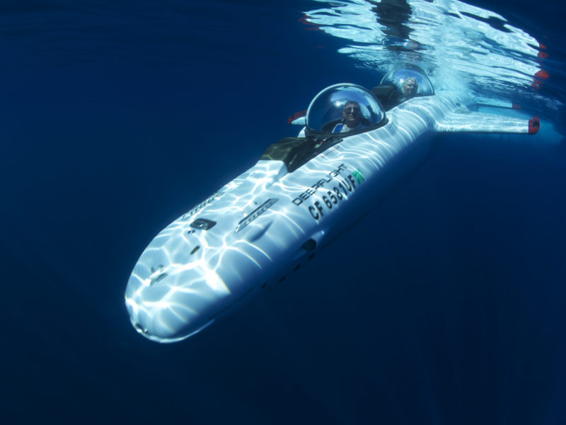 Riding below the waves: the rise of personal submersibles