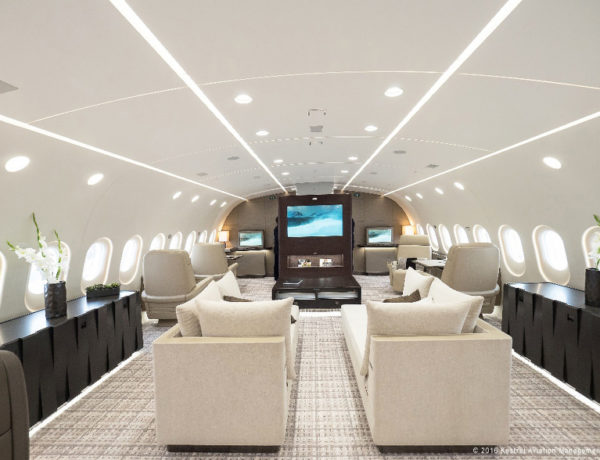 Airbus Boeing airliners become private jets: Boeing 787-8 BBJ