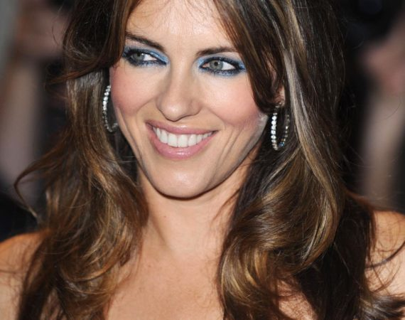 Elizabeth Hurley at the GQ awards at Royal Opera House,London,England-08.09.09 Credit: (Mandatory): WENN.com
