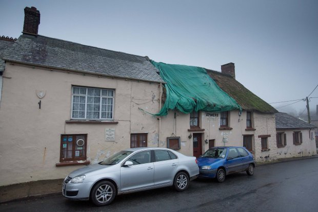 """FILE PHOTO - GV of The Farmers Arms in Woolsery which was saved for the village by BEBO millionaire Michael Birch. The multi-millionaire founder of the Bebo social networking site has said he pumped money into a North Devon village after seeing its """"sad state"""". See story SWBEBO. California-based tycoon Michael Birch said he felt a """"need"""" to transform Woolsery, where his ancestors have lived since 1700. He has bought properties including the village pub, an old hotel and the fish and chip shop over the past two years local residents have welcomed his support."""