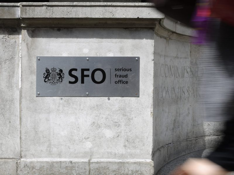 The headquarters of the Serious Fraud Office in Westminster.