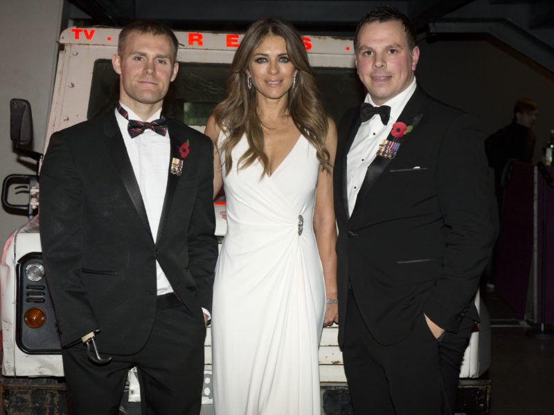 Marc Ormrod, Liz Hurley, Paul Findlay
