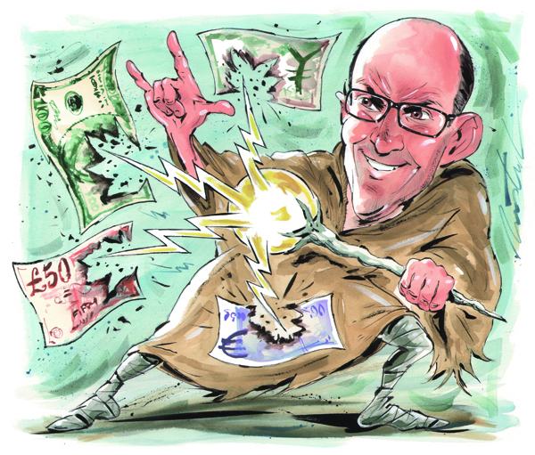 Kenneth Rogoff's world without cash
