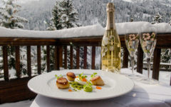 Come to Val d'Isere for skiing… and the Duck and Waffle at 1,850m