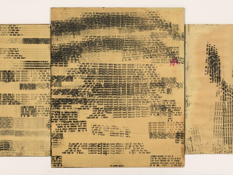 Review: Concrete Poetry at Richard Saltoun