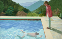 Hockney's $90m splash puts painting back in the frame