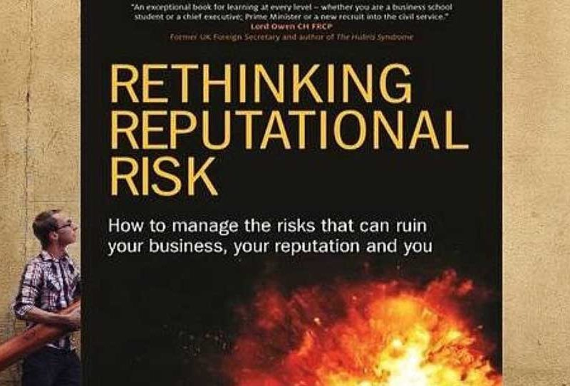 Book review: 'Rethinking Reputational Risk'