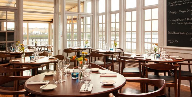 Man about town: London's top riverside restaurants